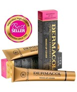 Dermacol High Cover Makeup Foundation Waterproof SPF-30 (Authentic) - NEW  - $12.91+