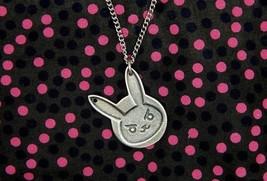 Overwatch D.va bunny necklace handmade geek gamer gaming gift pendant je... - $43.86