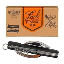 Multi Tool Detachable fork spoon bottle opener cork screw foil cutter pe... - $6.33