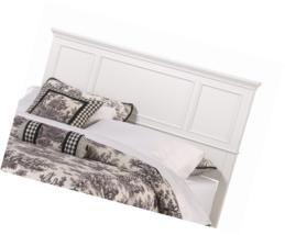 Home Styles 5530-601 Naples Headboard, King, White - €242,24 EUR