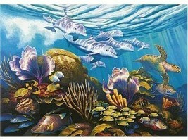 "Ravensburger 1000 Pc.Jigsaw Puzzle ""Beneath the Sea"" by Ravensburger  #8... - $23.76"