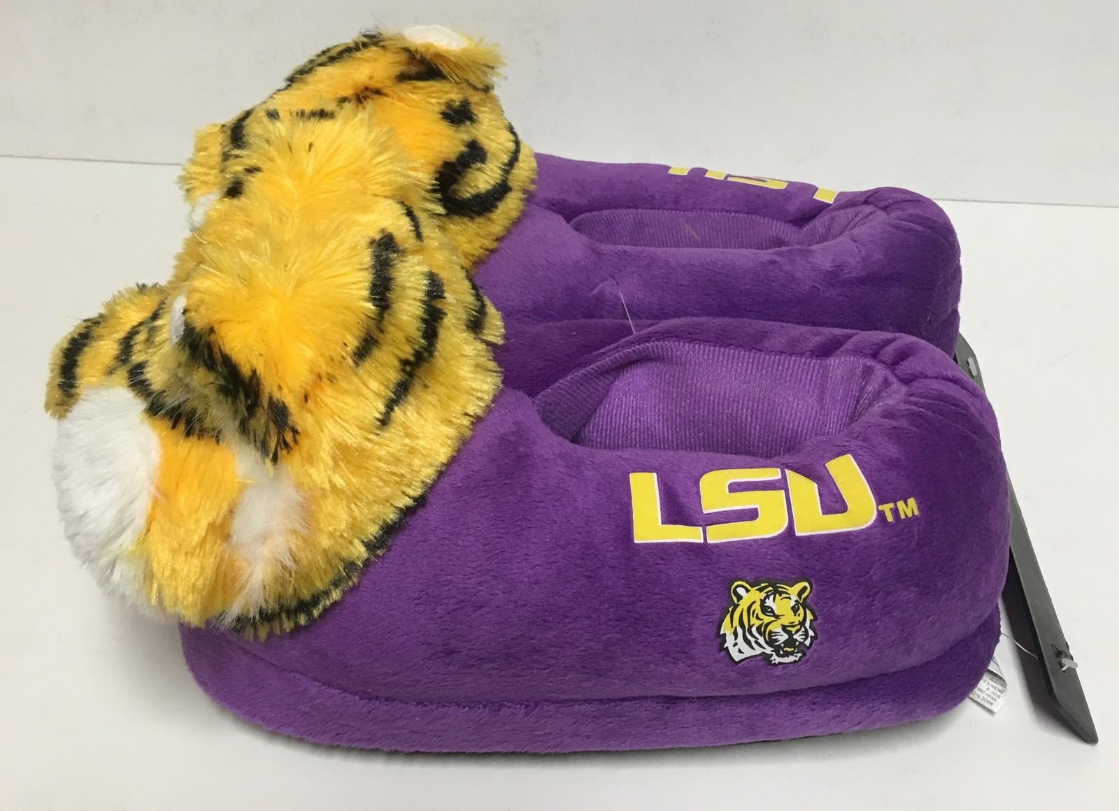LSU Louisiana State University Women'a Slippers Many Sizes Purple Tigers image 5