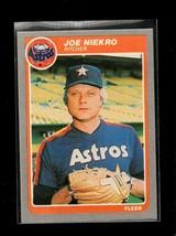 1985 FLEER #355 JOE NIEKRO NM ASTROS - $0.99