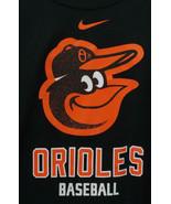 Nike XL Black Orange Baltimore Orioles Dri Fit Technical Fitness Shirt - $28.00