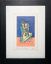 She who is My Daughter art print framed double matted Suzy Toronto signe... - $14.84