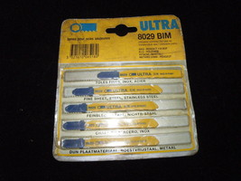 New Ultra  8029 BIM  Blades (5/Pack) Makita * BNiB - $5.99