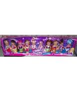 "Funville Sparkle Girlz Little Friends Collection 10 Doll Set 4""H Each New - $16.88"