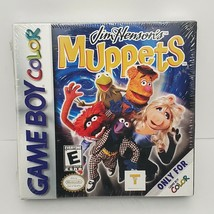 Jim Henson's Muppets Nintendo Game Boy Color 2000 Factory New and Sealed - $46.60