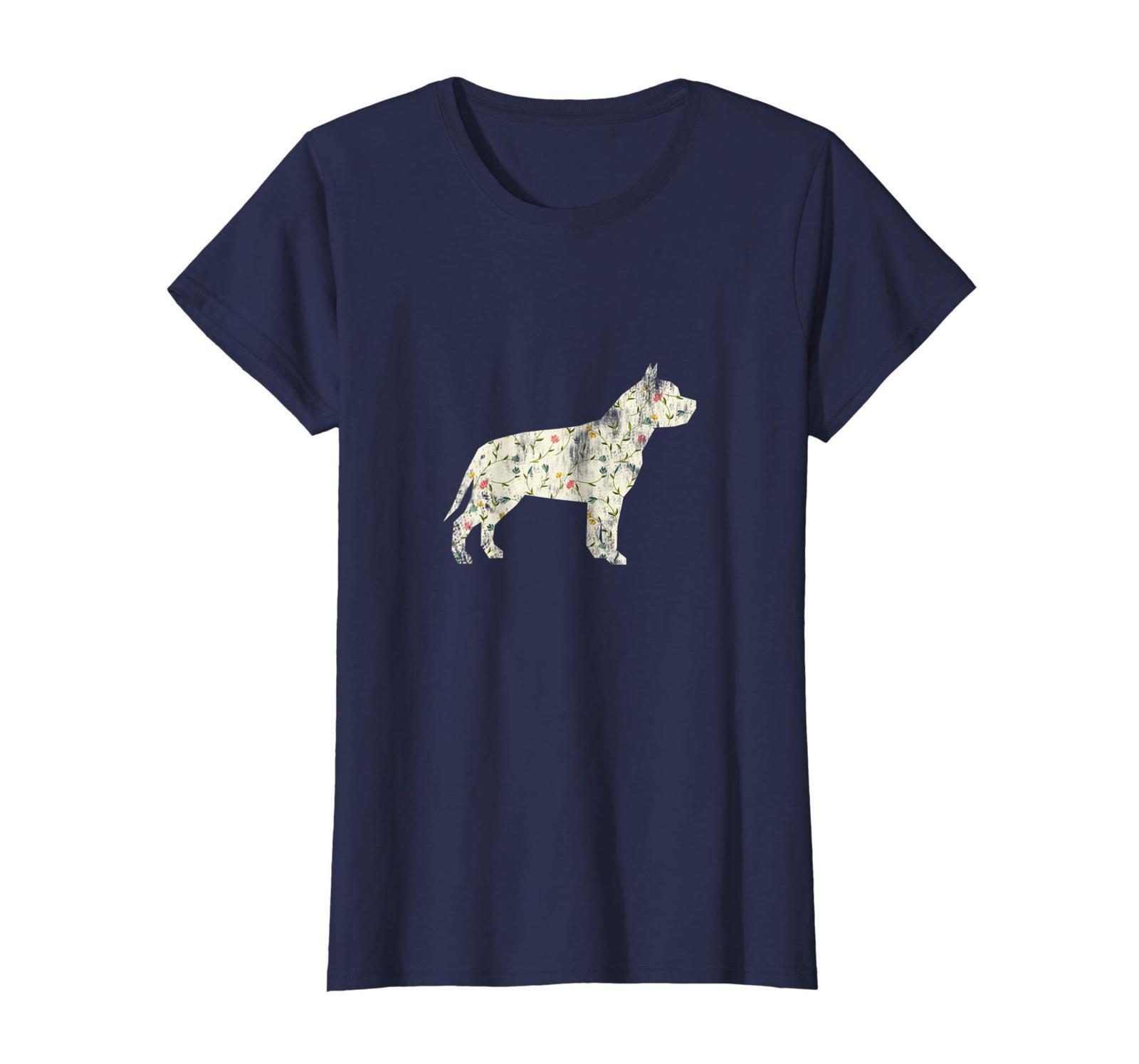 Dog Fashion - Vintage Floral Pitbull Shirt Dog Lover Dog Owner Gift Wowen image 4