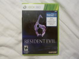 RESIDENT EVIL 6 XBOX 360 GAME EUC - $7.66