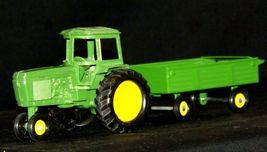 Ertl John Deere replica die-cast tractor with wagon AA19-1639 Vintage image 4