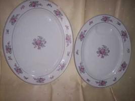 * 2 Arlington Theodore Haviland New York Oval Platter VTG - $33.95