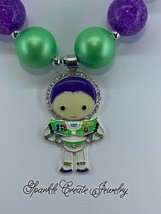 Buzz Lightyear Chunky Bubblegum Necklace image 3