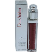 Dior Addict Gloss Mirror Shine Volume & Care 6.5 Ml #623 Faraway Pink Nib - $36.14