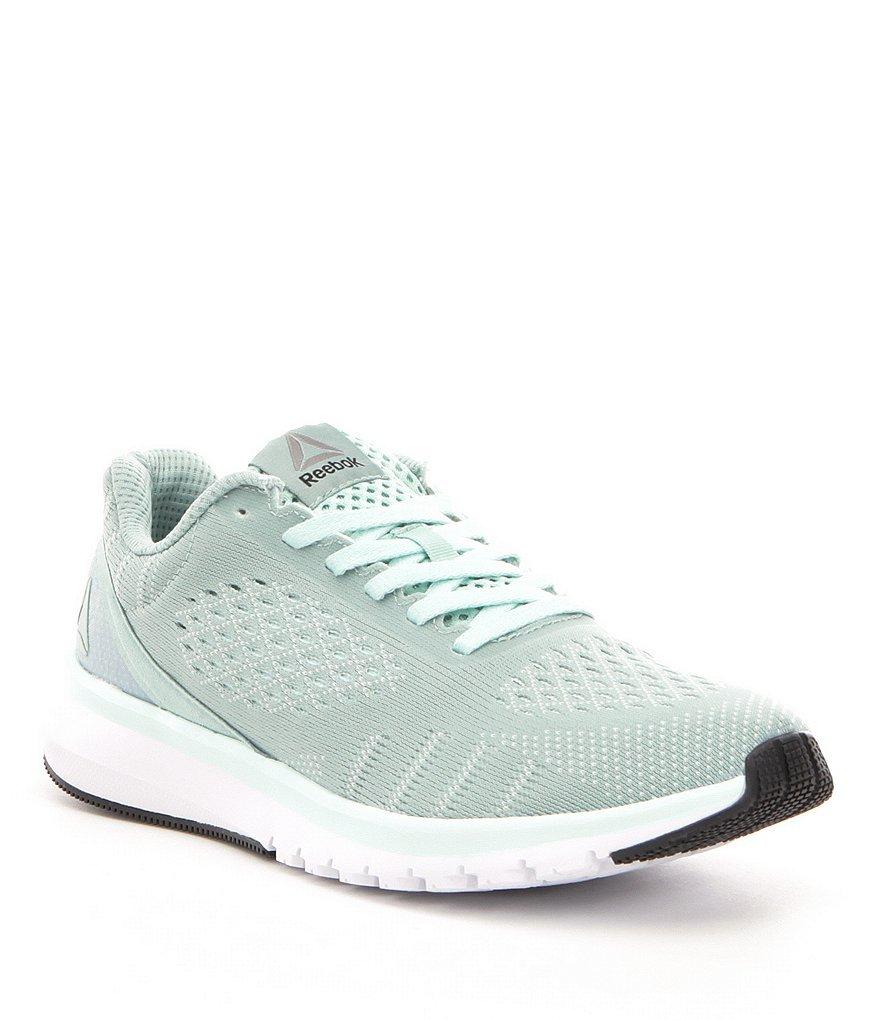Reebok 9M Women s Print Smooth ULTK Running Shoe Grey Mist White Coal Pewter  - £56.02 GBP f210bb270