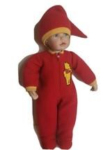 Disney Cindy McClure Christopher Robin Winnie the Pooh Pajama Porcelain ... - $29.40