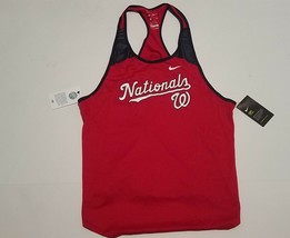 Nike Women's MLB Washington Nationals Dry Anti-Odor Tank Top L - $19.80