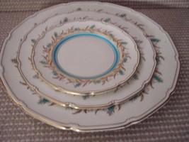 3 Royal Doulton Prelude Dinner Salad Plates  - $48.02