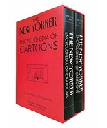The New Yorker Encyclopedia of Cartoons :  A-To-Z Archive : New Boxed Set HC @ - $59.95