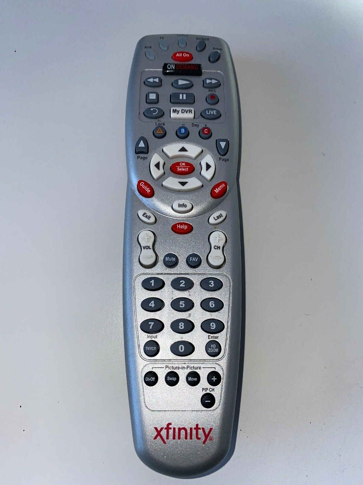 Comcast Xfinity Remote Rc1475509 01b With And 14 Similar Items