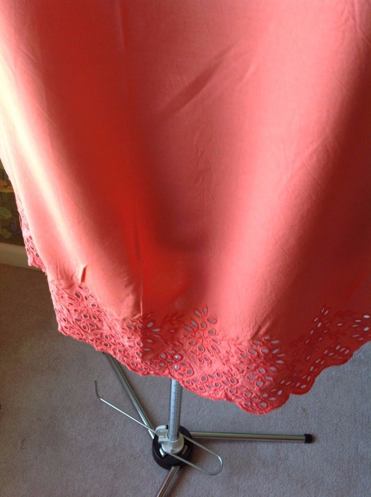Old Navy Coral Cold Shoulder Women Casual Dress Size XS