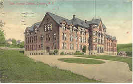 State Normal School  Oneonta New York Vintage 1913 Post Card - $6.00