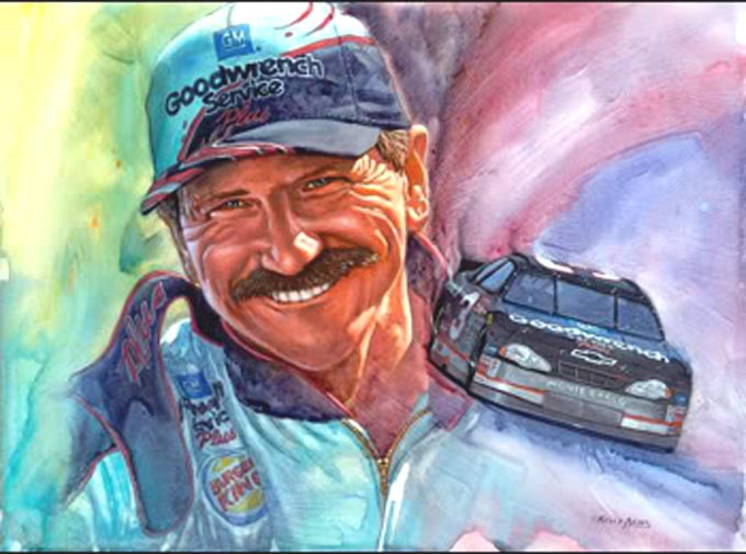 Primary image for DaLe Earnhardt Good-Wrench Cross Stitch Pattern***L@@K***