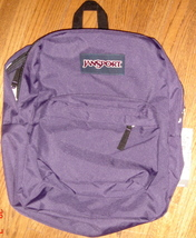 JanSport Superbreak Backpack ~ Pure Purple ~ NWT - $32.00