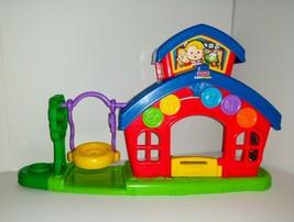 Fisher Price LITTLE PEOPLE School House P8980 Miss L. Afina's Schoolhous... - $24.19