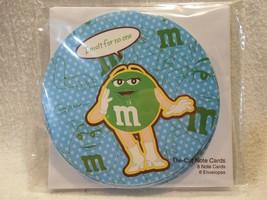 2008 M&M's Studio 18 Ms Green Note Cards & Envelope Set of 8 MIP Sealed - $2.95