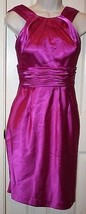 Adrianna Papell Boutique Purple Orchid Sleeveless Dress Sz 0 Cocktail We... - $99.99