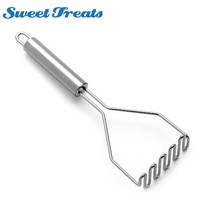 Sweettreats Stainless Steel Potato Masher Wave Shape Tool - $15.95