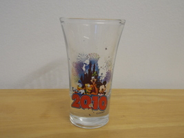 Disney Friends 2010 Tall Shot Glass  - $6.00