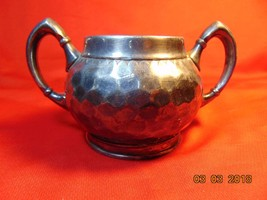 Silver Gilt, Sugar Bowl from Reed & Barton, in the No. 612 Pattern. - $7.99