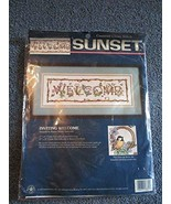 """Sunset Counted Cross Stitch """"Inviting Welcome"""" 13629 - $39.99"""