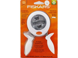 Fiskars X-Large Easy Squeeze Punch, Wave Banner #119070-1001