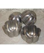 Aluminum Tart/Jello Molds - Set of 4 - $5.00