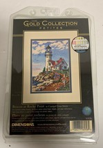 Dimensions gold petites beacon at rocky point cross kit 6958 2003 - $18.38