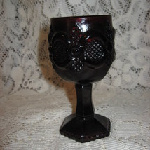 Avon - Cape Cod Goblet-Ruby Red - $9.00