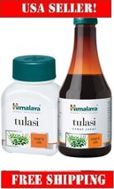 Himalaya Tulasi 60cap Holy Basil Ensures rapid control of upper respiratory trac - $7.99