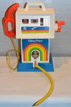 Vintage 1983 Fisher Price Gas & Go Service Center #984 Gas Pump - $24.57