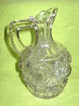 Cruet-Cut Glass - $21.00
