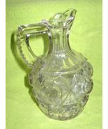 Cut Glass Cruet - $21.00