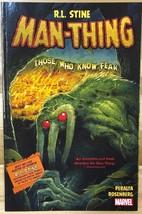 MAN-THING By R.L. Stine (2017) Marvel Comics Tpb 1st - $10.88