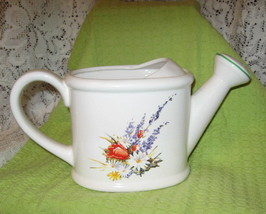 Telafloral-Watering Can Flower vase/Planter/Pitcher-Ceramic - $8.00