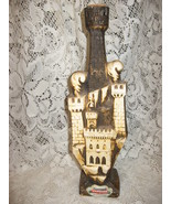 Barsottini Wine Castle Bottle- Italy-60's - $5.75