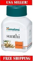 Himalaya Sunthi 60cap Ginger for Dependable anti-nausea therapy,retail v... - $7.69