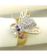 ESTATE STORE 18K G.F.C. Z. BEE COCKTAIL Ring SZ-6-7-8-9 - $15.27