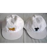 White cotton lion elephant design boy' girl' CAP/hat age 1-4 - $4.99