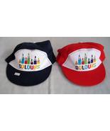 RED/BLUE COTTON color pencil unisex boy cap/hat age 1-5 - $1.57